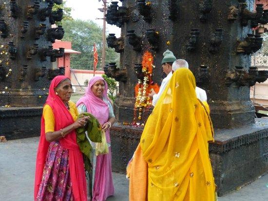 Ujjain, India:                   à l'entrée