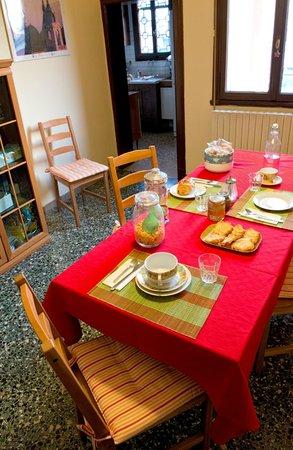 B&B Casa Patavina: La colazione