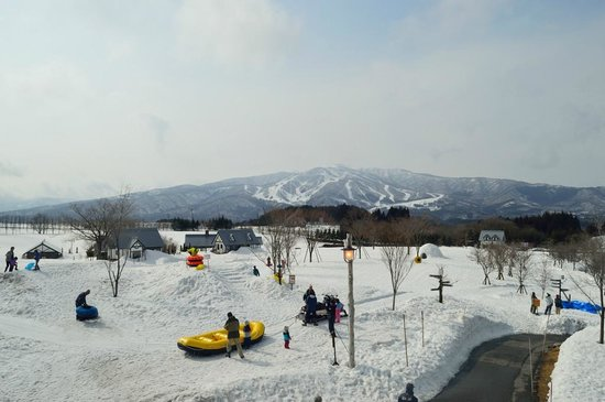 Bokka no Sato:                   冬の牧歌の里