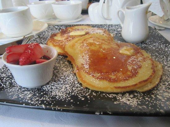 Castlewood House: amazing pancakes