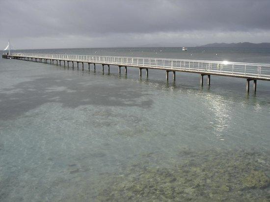 L'Escapade Island Resort: accès après débarquement