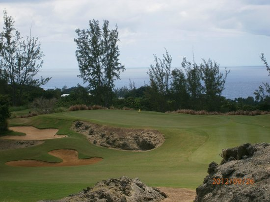 Royal Westmoreland:                   Golf Course view