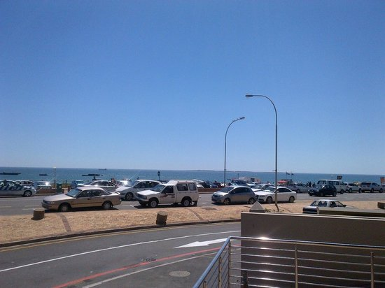 Carlucci's Table View:                                     View from Carlucci's Blouberg