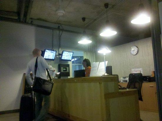The Warehouse Bangkok:                   Reception desk
