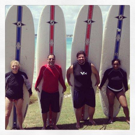Ride The Tide Surf School : surf team