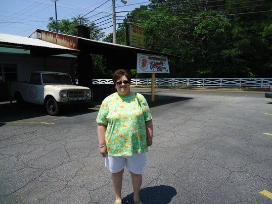 Sprayberry's Barbecue:                   This was last year on our way to vacation