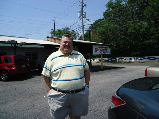Sprayberry's Barbecue:                   My husband Steve introduced me to his family here!!!