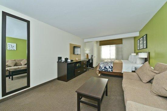 Sleep Inn & Suites: King Suite