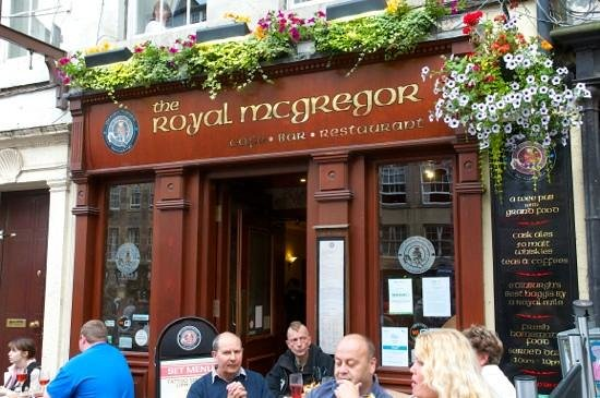 The Royal Mcgregor :                   The Royal