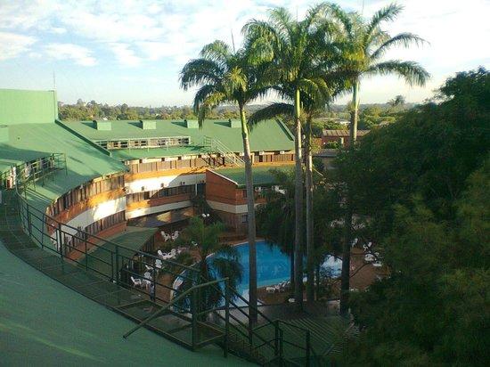El Libertador :                   Vista panorámica desde el 4° piso