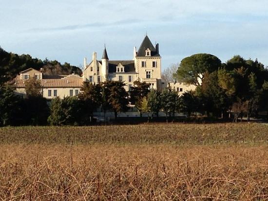 Chateau Les Carrasses:                   les chambres sont en conformité avec l.image du chateau
