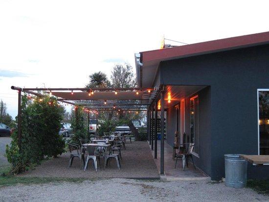 El Cosmico:                   Reception/Bar/Store.