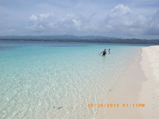 Canigao Island:                   Its very pretty all's blue