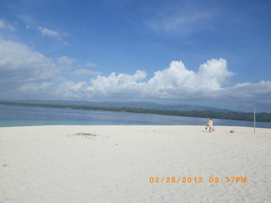Canigao Island:                   Peace my stress went away for awile