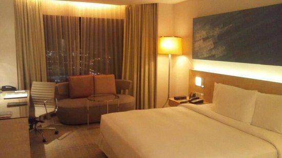 DoubleTree by Hilton Kuala Lumpur:                   24階デラックスルーム