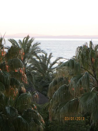 Marriott's Marbella Beach Resort: view from room deck