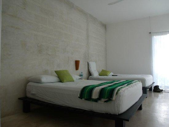 Villas H2O:                   Schönes Zimmer
