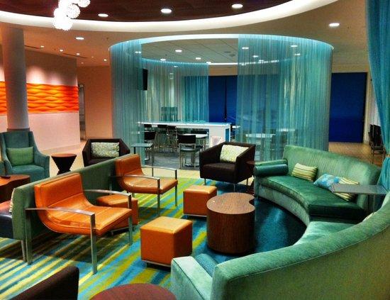 SpringHill Suites Rexburg:                   Lobby