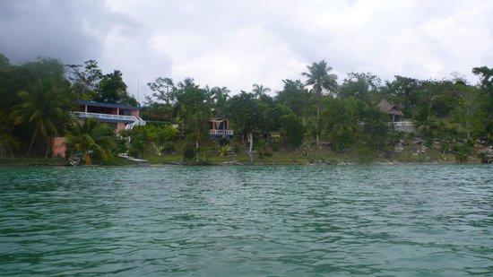 Pehaltun Villas:                   View from the kayaks