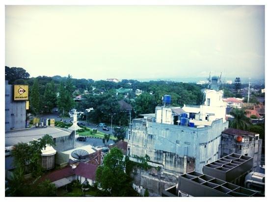 Novotel Bandung:                                     view @ 6 floor