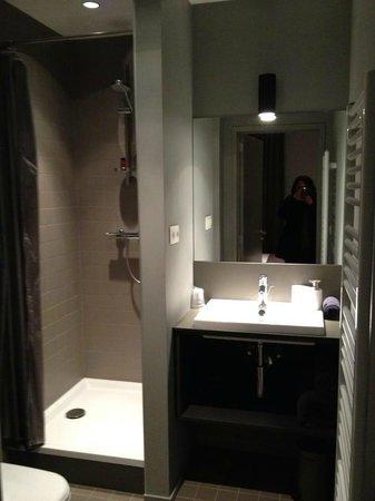 A Cote du Cinquantenaire:                   Bathroom