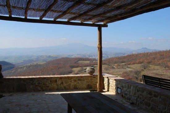 Le Colline Dei Sogni - San Casciano Dei Bagni : The terrace