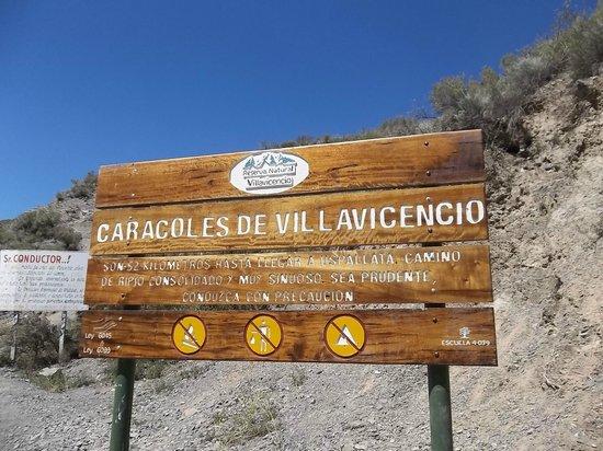 El Camino de las 365 Curvas:                   acceso al la ruta de las 365 curvas