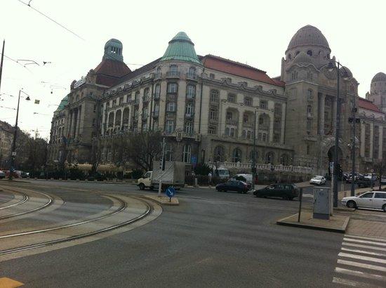 Danubius Hotel Gellert:                   Facade