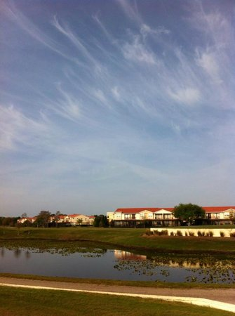 Emerald Greens Condo Resort :                   View from the golf course