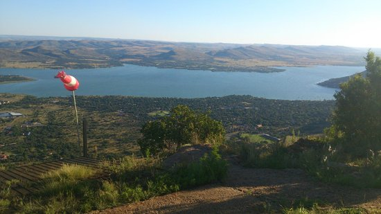 Aerial Cableway Hartbeespoort: View of the Dam