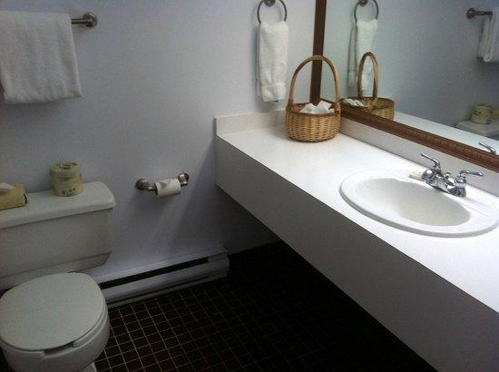 Hotel l'Eau a la Bouche:                   Toilette