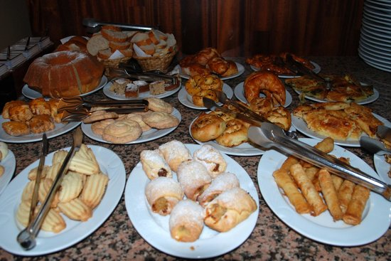 Hotel Sebnem:                   breakfast selection