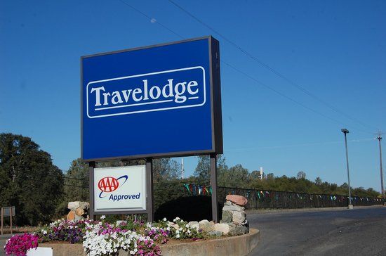 Travelodge Angels Camp CA: Entrnce