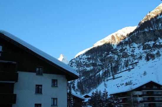 BEST WESTERN Alpen Resort Hotel: Blick vom Balkon
