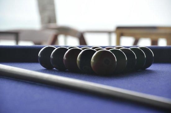 THE BAY Resort & Restaurant: Pool table