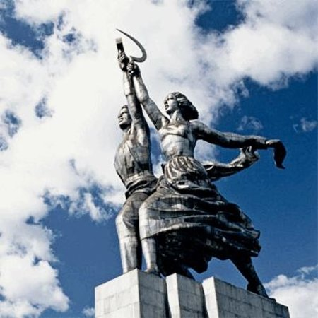 Open Moscow! - Tours: Worker and Farm Girl Monument