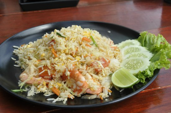 THE BAY Resort & Restaurant : Thai fried rice