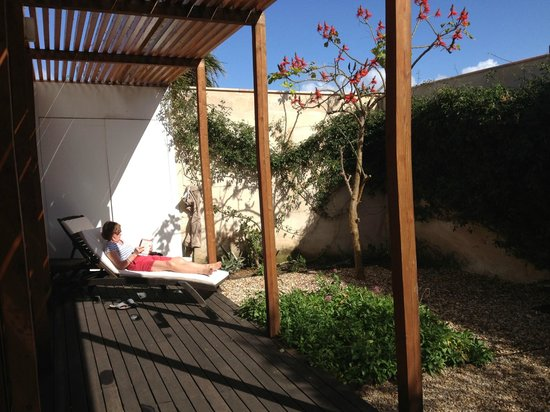 Hotel Porto Santo & SPA : The villa garden