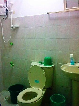 Hotel Delfino :                   bathroom