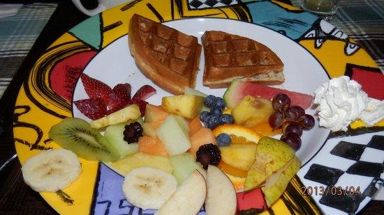 B&B 4 Saisons:                   petit déjeuner sucré