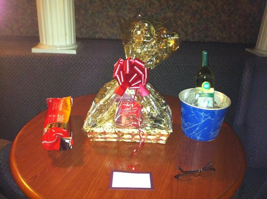 Cove Haven Resort:                   My gift package