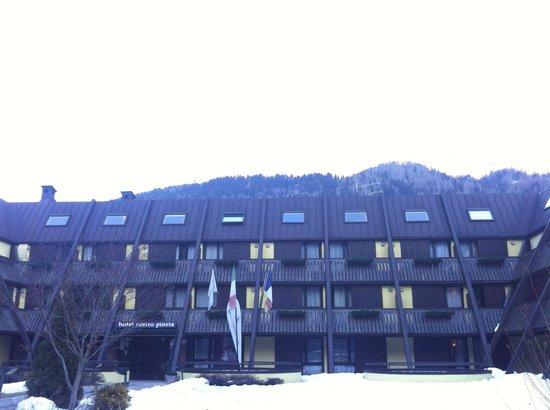 Centro Pineta Family Hotel & Wellness:                   Vista dell'hotel Centro Pineta