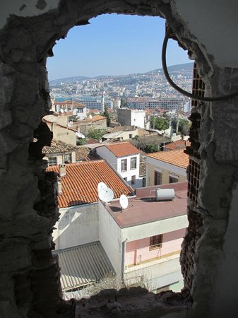 Anzac Golden Bed Pansiyon:                   roof view