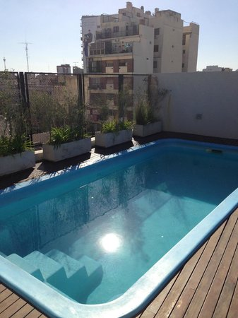 PuroBaires Hotel Boutique:                   Rooftop pool
