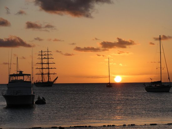 The Landings St. Lucia: One of many sunsets