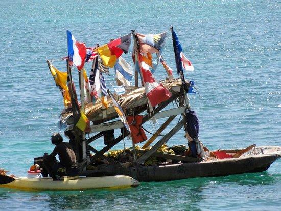 The Landings St. Lucia: The fruit man!