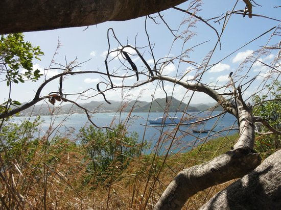 The Landings St. Lucia: View from Pigeon Island