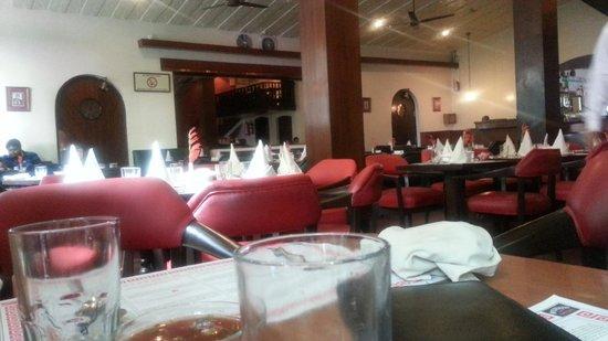 Bar-B-Q :                                     The restaurant