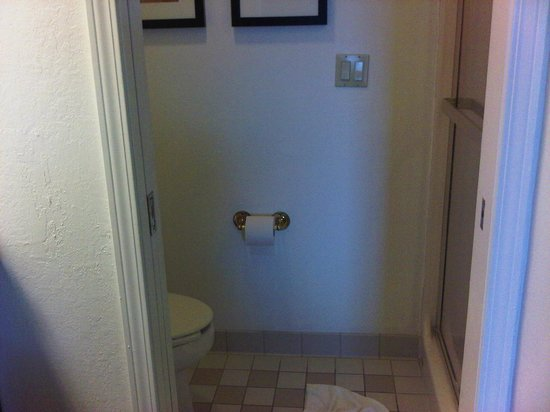 Sleep Inn:                                     Bathroom - no tub - pocket doors