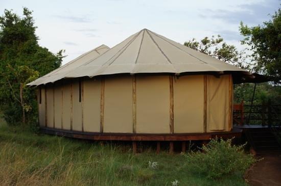 Kilima Camp:                                     marvellous Tent